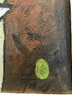 Mesa Con Frutas 1988 30x37 Original Painting by Jesus Fuertes - 3