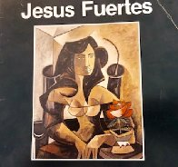 Mesa Con Frutas 1988 30x37 Original Painting by Jesus Fuertes - 4