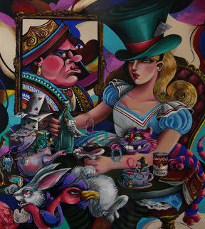 Alice in Wonderland 1995 Limited Edition Print by Jett Jackson