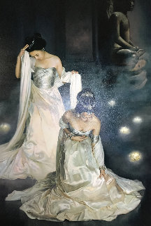 Dancers 1998 Limited Edition Print by Jia Lu