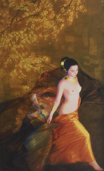 Plum Blossoms 2001 Limited Edition Print by Jia Lu