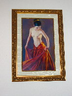 Flamenco 36x22 Original Painting by Jia Lu - 1