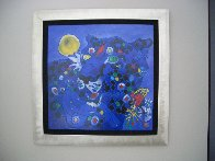 Vision-Blue Cat 2001 Limited Edition Print by Tie-Feng Jiang - 2