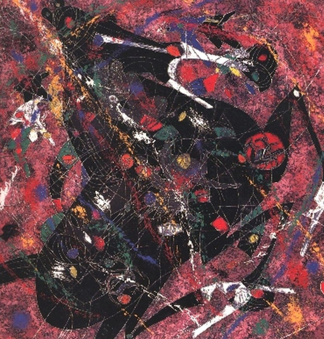 Black Horse 1986 Limited Edition Print by Tie-Feng Jiang