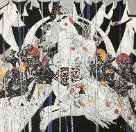 Girl of Suchou Deluxe 1987 Limited Edition Print by Tie-Feng Jiang - 0