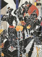 Girl of Suchou Deluxe 1987 Limited Edition Print by Tie-Feng Jiang - 2