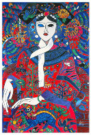 Empress 1991 Limited Edition Print by Tie-Feng Jiang - 0