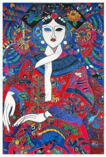 Empress 1991 Limited Edition Print - Tie-Feng Jiang