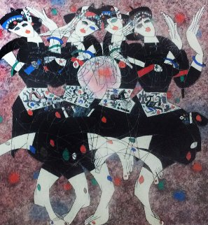 Moonlight Dance 1986 Limited Edition Print - Tie-Feng Jiang