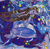 Sweet Lady Suite - Purple State 2001 Limited Edition Print by Tie-Feng Jiang - 0