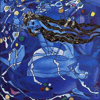 Sweet Lady Suite - Blue State 2001 Limited Edition Print - Tie-Feng Jiang