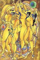 Flowering Age 2000 Limited Edition Print by Tie-Feng Jiang - 0