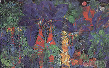 Lovers Trees 1993 Limited Edition Print by Tie-Feng Jiang