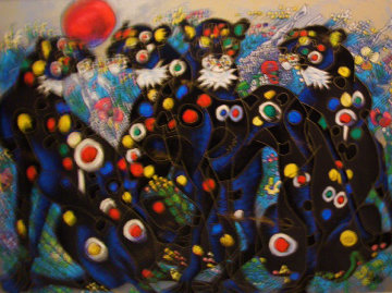 Beautiful Wild 1996  Limited Edition Print - Tie-Feng Jiang