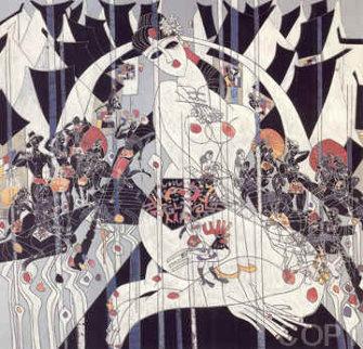 Girl Of Souzhou 1988 Limited Edition Print - Tie-Feng Jiang