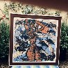 Earth Mother 1985 50x60 Huge Original Painting by Tie-Feng Jiang - 1