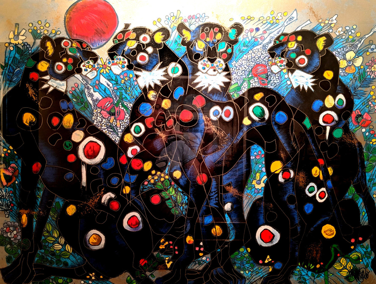 Beautiful Wild 1996 Limited Edition Print by Tie-Feng Jiang