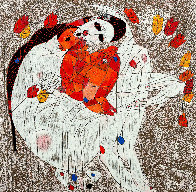 Mother and Child 1980 Limited Edition Print by Tie-Feng Jiang - 0