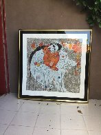 Mother and Child 1980 Limited Edition Print by Tie-Feng Jiang - 1