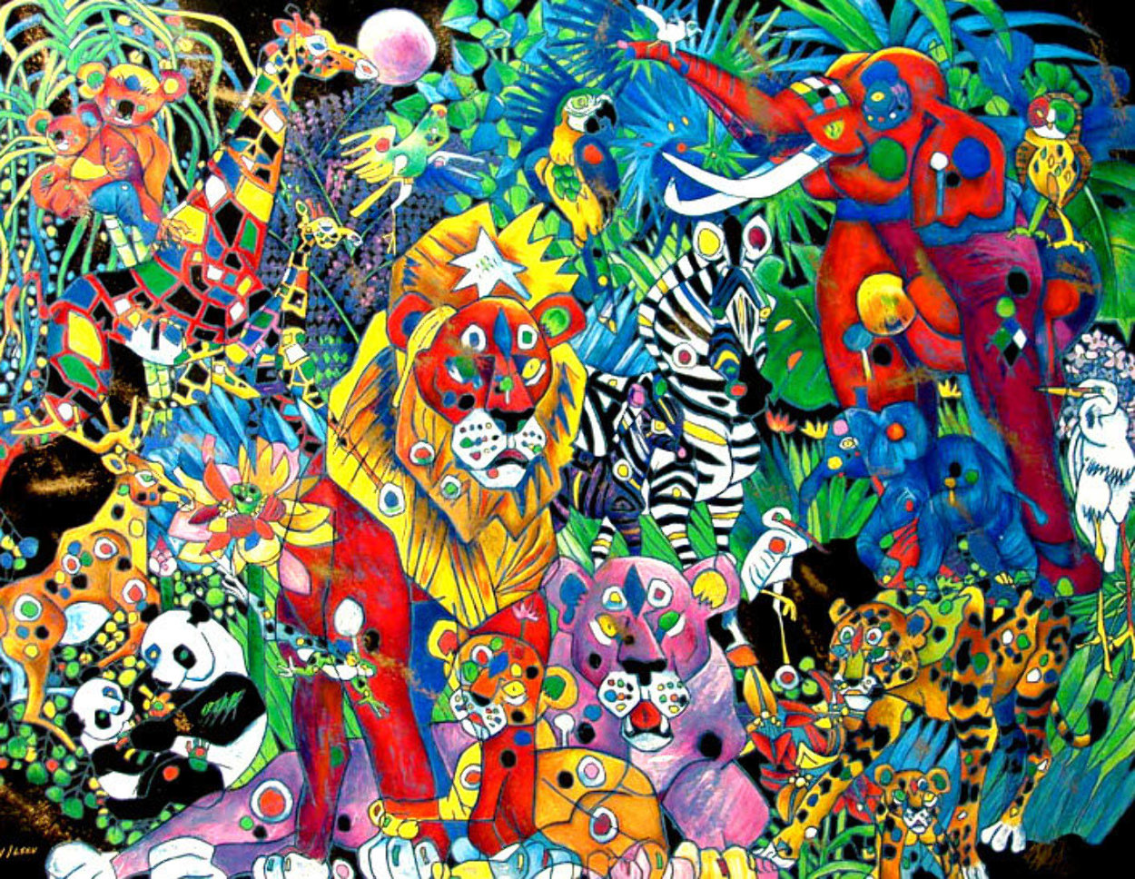 My World II 1999 Limited Edition Print by Tie-Feng Jiang
