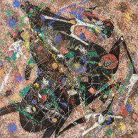 Black Horse 1988 Limited Edition Print by Tie-Feng Jiang - 0