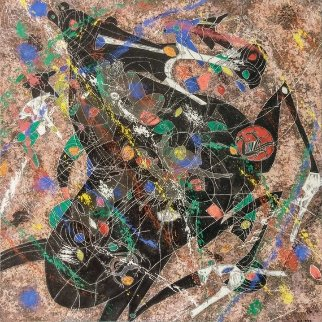 Black Horse 1988 Limited Edition Print - Tie-Feng Jiang