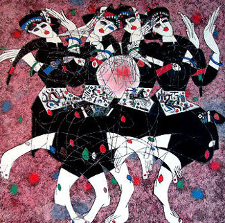Moonlight Dance Limited Edition Print - Tie-Feng Jiang