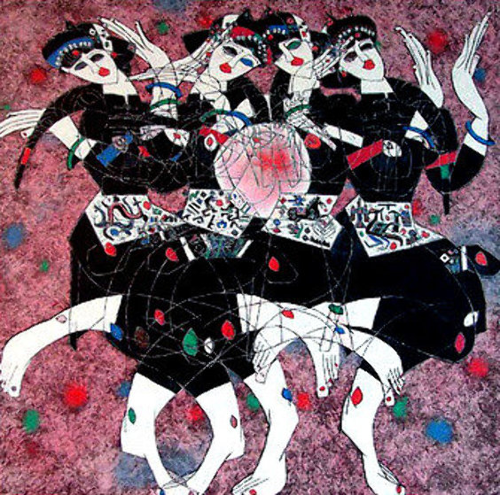 Moonlight Dance Limited Edition Print by Tie-Feng Jiang