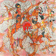 Spring PP 1989 Limited Edition Print by Tie-Feng Jiang - 1