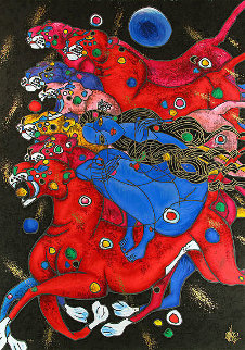 Panthers 1994 Limited Edition Print - Tie-Feng Jiang