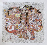 Love Suite of 2 (Deluxe) 1987 Limited Edition Print by Tie-Feng Jiang - 6