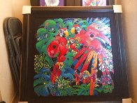 Birds of Paradise 1997 Limited Edition Print by Tie-Feng Jiang - 2