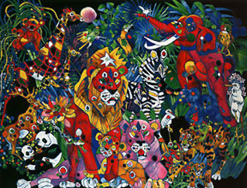 My World II Deluxe 1995 Limited Edition Print by Tie-Feng Jiang