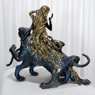 Mountain Ghost  Bronze Sculpture 1989 19 in Sculpture by Tie-Feng Jiang - 4