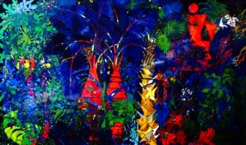 Lovers Trees Limited Edition Print - Tie-Feng Jiang