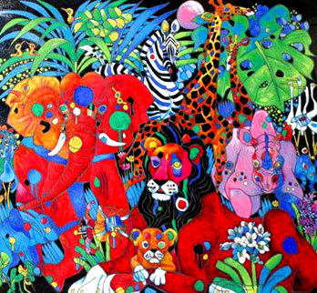 My World 1995 Limited Edition Print - Tie-Feng Jiang