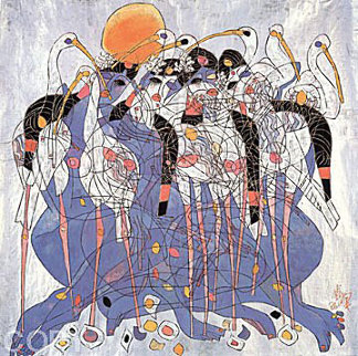 Springtime AP 1987 Limited Edition Print by Tie-Feng Jiang