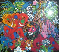 My World 1994 Limited Edition Print by Tie-Feng Jiang - 0