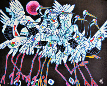Rhythm 1992 Limited Edition Print - Tie-Feng Jiang