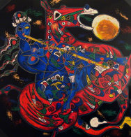 Freedom Suite of 2 1991 Limited Edition Print by Tie-Feng Jiang - 0