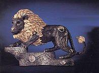 King Bronze Sculpture 1996 21 in Sculpture by Tie-Feng Jiang - 0