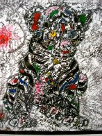 Youthful Strength 2011 33x33 Original Painting by Tie-Feng Jiang - 3