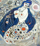 White Mermaid 1988 Limited Edition Print by Tie-Feng Jiang - 0