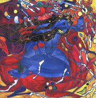 Sweet Lady  Yellow State PP 2001 Limited Edition Print by Tie-Feng Jiang - 0