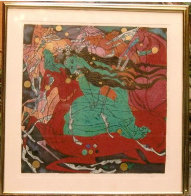 Emerald Lady 1985 Limited Edition Print by Tie-Feng Jiang - 1
