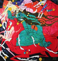 Emerald Lady 1985 Limited Edition Print by Tie-Feng Jiang - 2