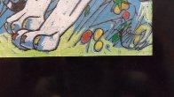 Sun Rising 1998 20x20 Original Painting by Tie-Feng Jiang - 5