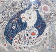 Mermaid 1987 Limited Edition Print by Tie-Feng Jiang - 1