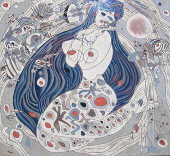 Mermaid 1987 Limited Edition Print by Tie-Feng Jiang