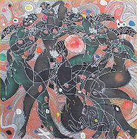 Playing Water 1988 Limited Edition Print by Tie-Feng Jiang - 0